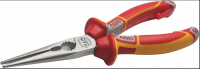 Длинногубцы прямые NWS 170мм, 1000В VDE, покрытие Crom (140-49-VDE-170)