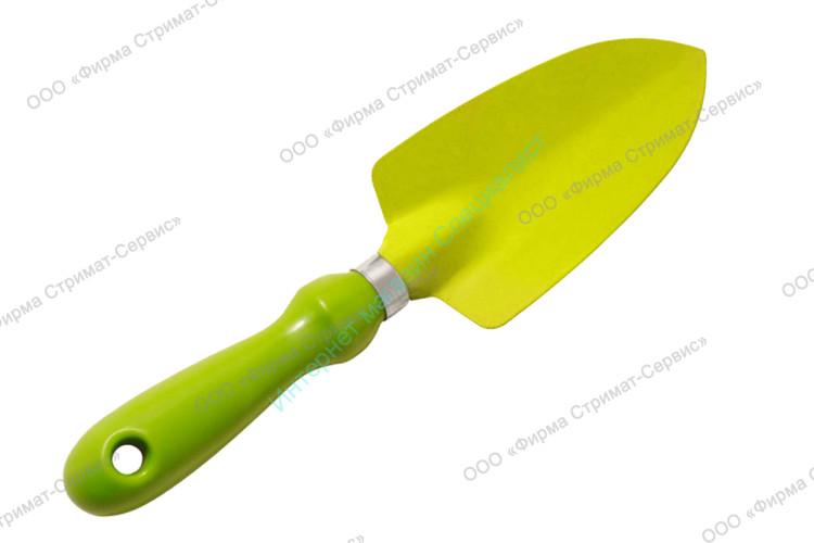 Совок посадочный широкий (пластик.ручка) FT 402-A