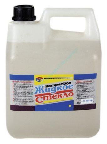 Жидкое стекло 15 кг, КОНСТРУКТОР