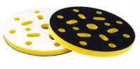 Подложка промежуточная 150мм Т10мм на липучке, 15 отв, желтая жесткая ISISTEM Interfase H Yellow