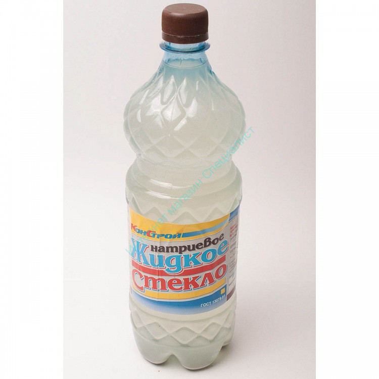 Жидкое стекло 1,5 кг, КОНСТРУКТОР
