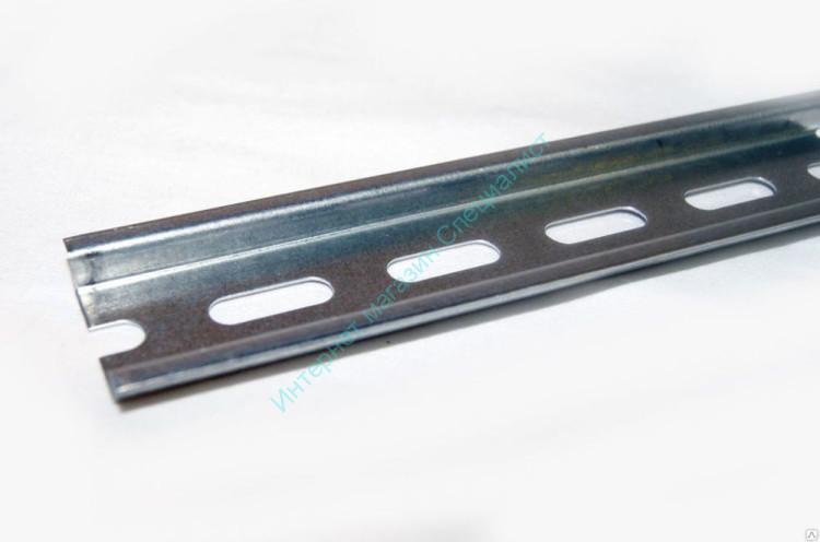 ДИН-рейка (25см) оцинкованная