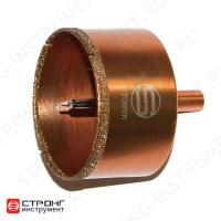 СТК-067 Коронка по стеклу и керамике с центрирующим сверлом СТРОНГ 22мм GOLD