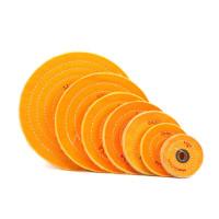 Круг полировальный муслиновый 6*50 желтый