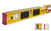 Уровень тип 196-2 LED 60см с подсветкой (2верт.1гориз.точн.0,5мм/м) STABILA
