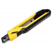 Нож с самофиксирующимся 18-мм лезвием с отламывающимися сегментами 180х18 мм STANLEY 0-10-280