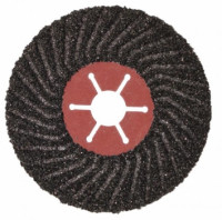 Полужесткий шлифовальный диск на фибровой основе (акула) 125мм*22,3мм Р 36