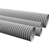 Гофротрубка D 20мм (серый) (100м)