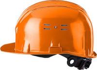 Каска защитная оранж. (храповик) Исток КАС002