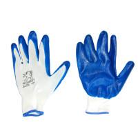 Перчатки стрейчевые с  нанесением нитрила