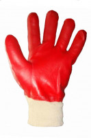 Перчатки ХБ С ПВХ МБС с полным покрытием ГРАНАТ
