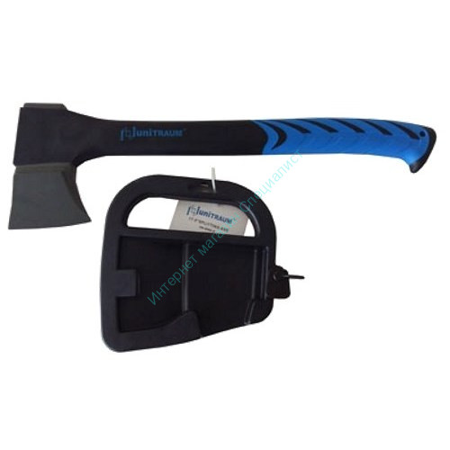 Топор UNITRAUM 570гр с тефлоновым покрытием на фиберглассовой ручке L=360мм. в защитном чехле