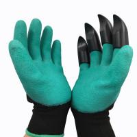 Перчатки садовые когти