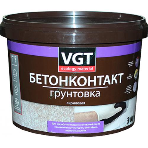 """Грунтовка ВД-АК-0301 """"Бетонконтакт"""" VGT"""