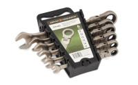 Набор ключей Дело Техники комбинированных трещоточных шарнирных 8-17 мм 6 шт. холдер 515460