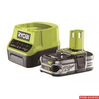 Набор RYOBI RC 18120-125 ONE+ (зарядное устройство + аккумулятор)