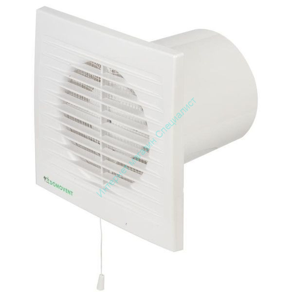 Вентилятор осевой с антимоскитной сеткой ДОМОВЕНТ 125С