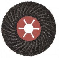 Полужесткий шлифовальный диск на фибровой основе (акула) 125мм*22,3мм Р 80