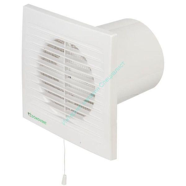 Вентилятор осевой с антимоскитной сеткой 94 м3/ч ДОМОВЕНТ 100С