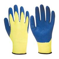 Перчатки х/б 13класс вязки, облитые толстым слоем вспененного латекса