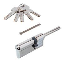 Механизм цилиндровый АL 75 (30*45), 5 ключей, хром