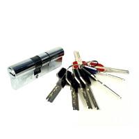 Механизм цилиндровый BR 110 (35*75), 5 ключей, хром