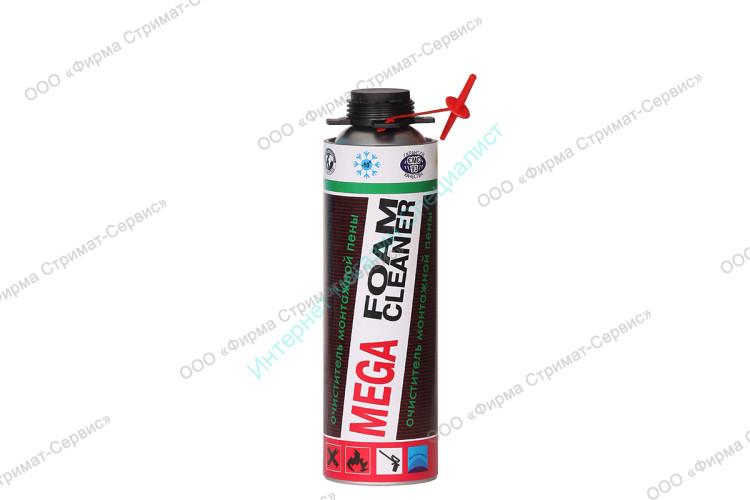 Пена монтажная (очиститель) 430гр. MEGA Foam (V-650мл)