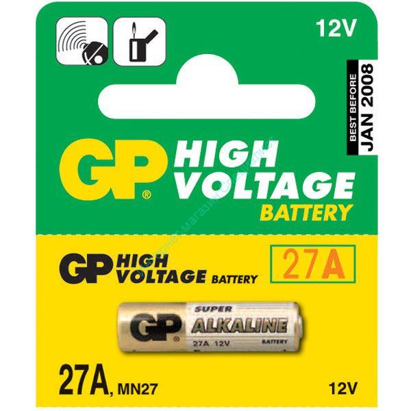 "Батарейка High Voltage ""GP 27A"" 12V (BC-5)"
