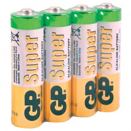 """Батарейка """"GP LR6 Super"""" (пленка) (15А В-4) (АА)"""