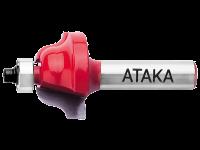 Фреза Атака 591190 кромочная калевочная 8х19(R3,2)х10,3мм