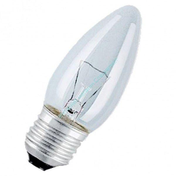 ЛН Лампа ДС 60 Вт Е27 (в инд. уп.) БЕЛЛАЙТ (свеча)