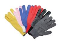 Перчатки НЕЙЛОН цветные с белой точкой