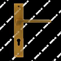 "Ручка двер. на планке 111-85мм (мат.кофе) ""Нора-М"""