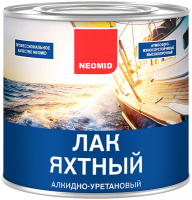 Лак NEOMID YACHT яхтный алкидно-уретановый п/матовый 2,5