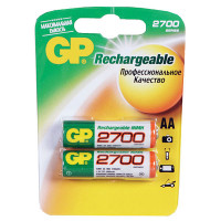 """Аккумулятор """"GP R6 Ni-Mh"""" (2700 mAh) (AA)"""