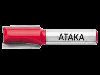 Фреза Атака 411350 кромочная калевочная 8х35(R6,3)х17,4мм