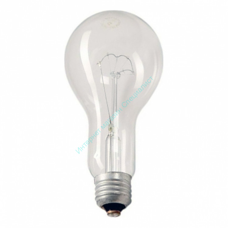 ЛН Лампа 300 Вт Е27 (в гофротаре)