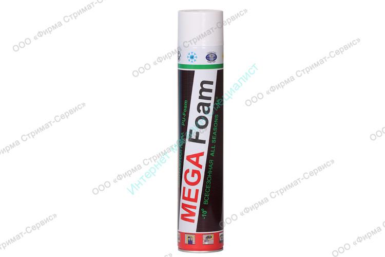Пена монтажная (всесезон) 540гр. MEGA Foam (V-1000мл)