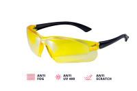 Очки защитные желтые ADA VISOR CONTRAST А00504