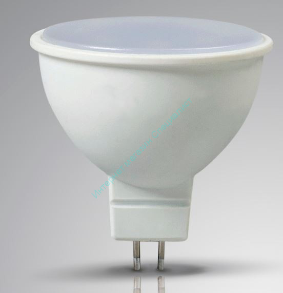 Лампа с/д LEEK MR16 9W NT 4K GU 5.3 (нейтральный)
