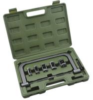 Рассухариватель струбцинный с насадками в кейсе (Ø 16,19,23,25,30 мм)