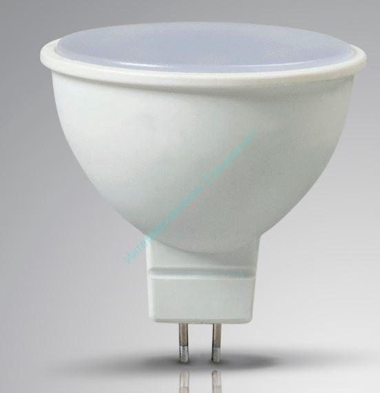 Лампа с/д LEEK MR16 5W NT 4K GU 5.3 (нейтральный)