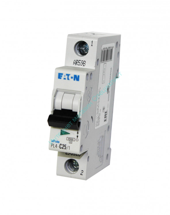 Авт.выкл. Eaton (Moeller series) PL4-C 1/25А