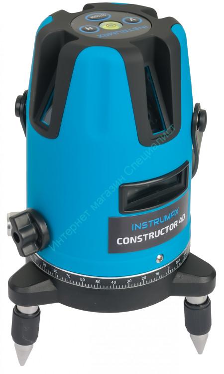 Построитель лазерных плоскостей INSTRUMAX Constructor 4D IM0104