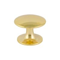 """Мебел.ручка-кнопка 202 (золото) """"Нора-М"""""""