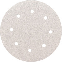 Абразивный круг SMIRDEX 510 White, D=125мм Р 180  8 отверстий