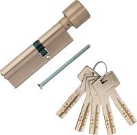 Личинка дверная (цилиндр) msm, 90мм, ключ-вертушка, 5 перфорированных ключей