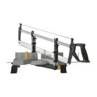 Стусло для плотницких работ металлическое регулируемое с ножовкой 560 мм STANLEY 1-20-800