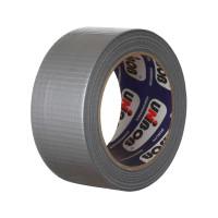 Клейкая лента армированая UNIBOB 48мм х10м (серебряная)