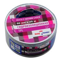 Клейкая лента TPL 50мм*25м черная Klebebander TPL525S/36
